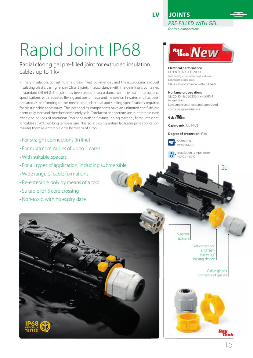 Rapid Joint IP68